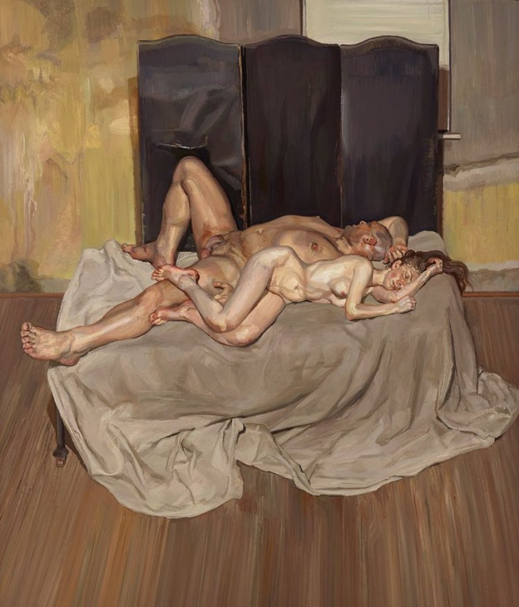 And the Bridegroom lucien freud