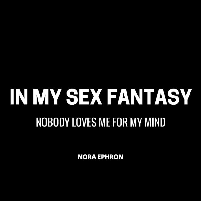 IN MY SEX FANTASY
